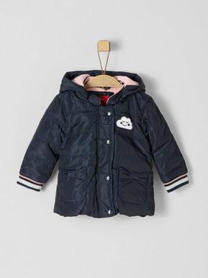 Куртка темно-синя | 5177118