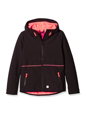 Куртка спортивная черная | 5177254