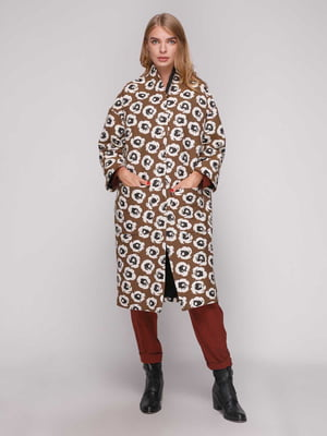 Пальто коричневе | 5173520