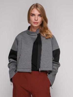 Куртка сіра | 5173498