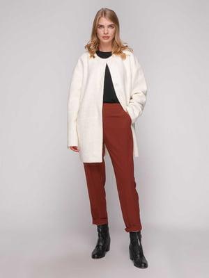 Пальто молочного кольору | 5173518