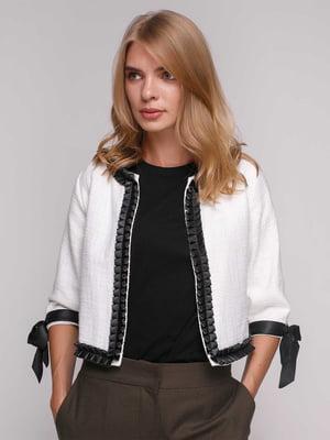 Куртка біла | 5173497