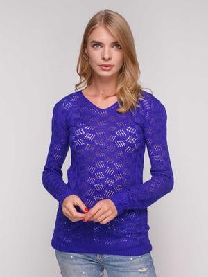 Пуловер цвета электрик | 5165249