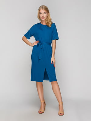 Платье бирюзовое | 5087249
