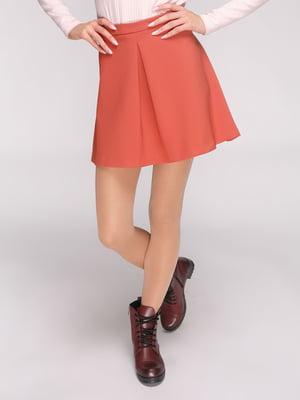 Юбка оранжевая | 3780366