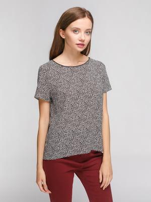 Блуза анималистичной расцветки | 4628472