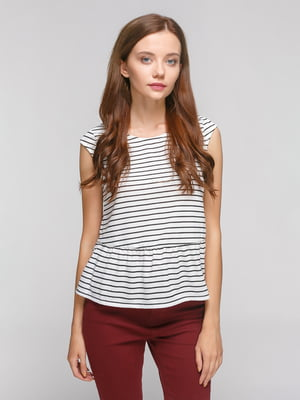 Блуза в полоску | 3782170