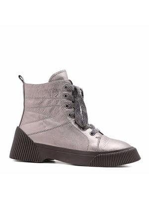 Ботинки серебристые | 5178649