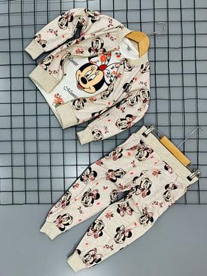 Костюм: брюки, кофта и реглан | 5178984