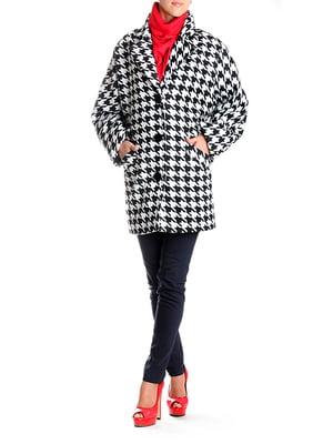 Пальто черно-белое | 5179047