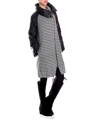 Пальто черно-белое | 5179048