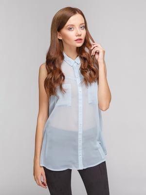 Рубашка голубая | 4625154