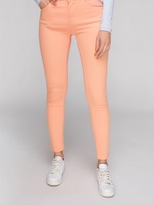 Джинсы оранжевые | 4547991