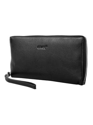 Барсетка-гаманець чорна   5179172