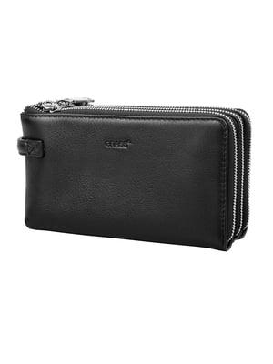 Барсетка-гаманець чорна | 5179175