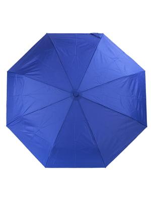 Парасолька-напівавтомат синя | 5179203