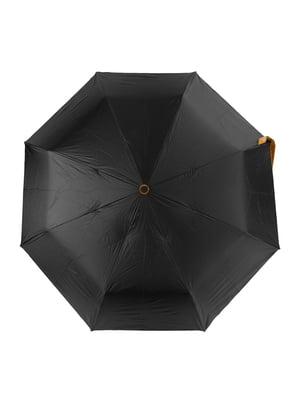 Парасолька-напівавтомат чорна | 5179205
