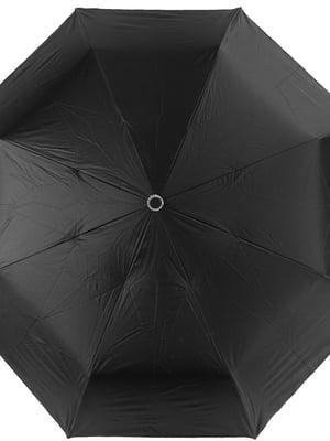 Парасолька-напівавтомат чорна | 5179208