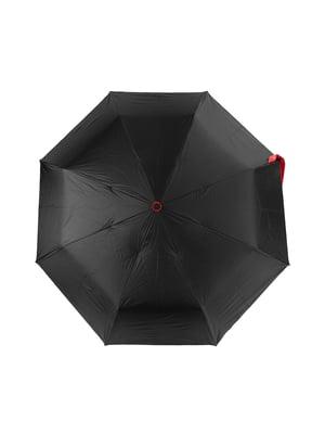 Парасолька-напівавтомат чорна | 5179209