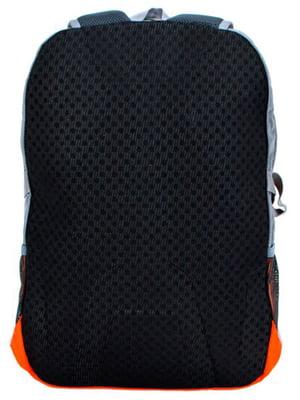 Рюкзак помаранчево-сірий   5179250