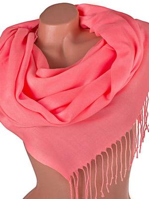 Палантин рожевий | 5179258