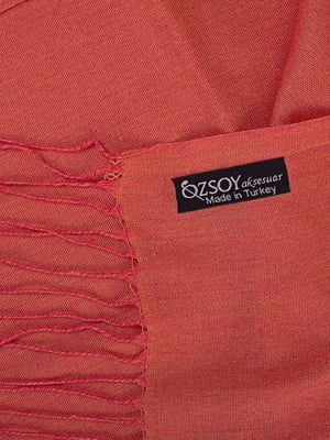 Палантин помаранчевий | 5179269