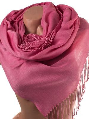 Палантин розовый | 5179275