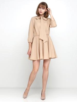 Платье бежевое | 5179348