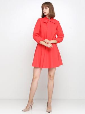 Платье коралловое | 5179352