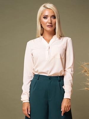 Блуза персикового кольору   5179570