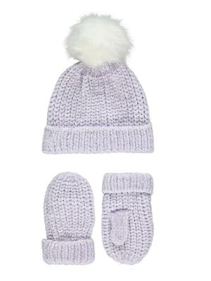 Набір: шапка та рукавиці | 5179633