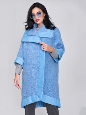 Пальто блакитне | 5179925
