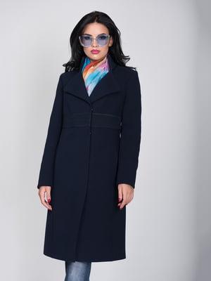 Пальто темно-синее | 5179988