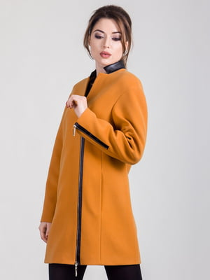 Полупальто оранжевое | 5180044