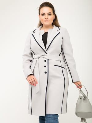 Пальто жемчужного цвета | 5180053
