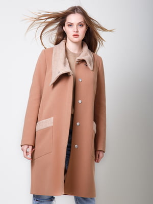 Пальто карамельного цвета | 5180058