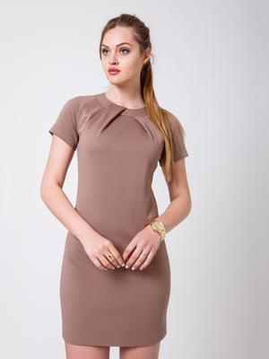 Сукня темно-бежева | 5180063