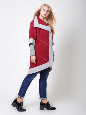 Пальто кольору вишні | 5179927