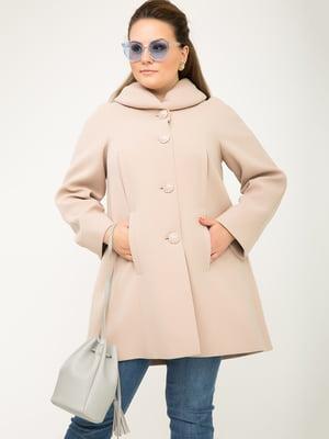 Пальто бежевое | 5179971