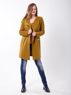 Пальто золотистого цвета | 5179972