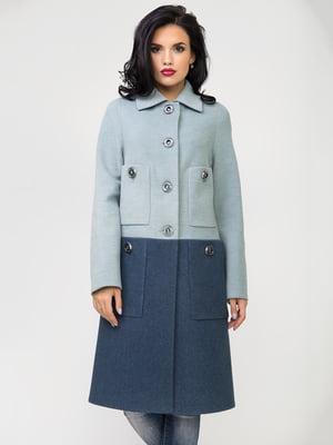 Пальто двокольорове | 5180003