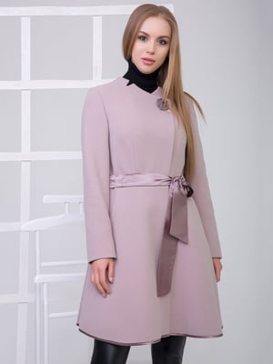 Пальто цвета пудры | 5179919
