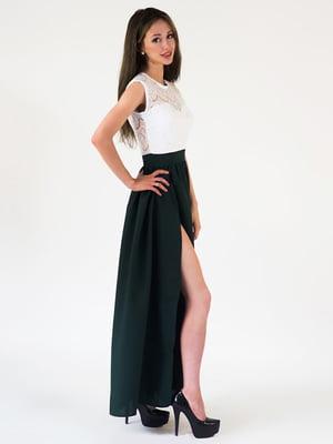Платье двухцветное | 5035094