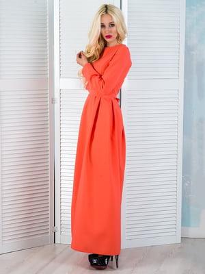 Платье коралловое | 5035306