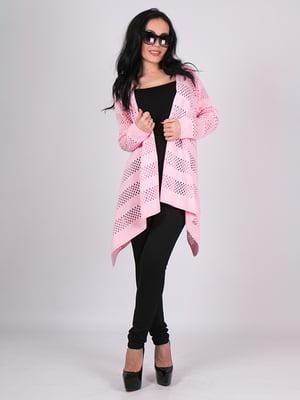 Кардиган рожевий | 5180710