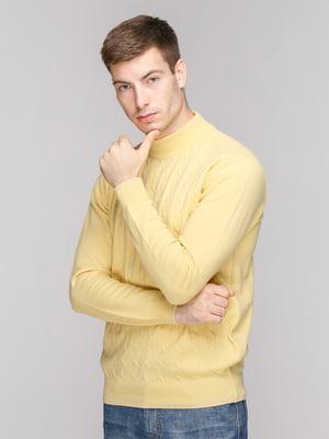 Джемпер лимонного цвета | 5178233