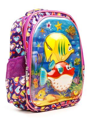 Рюкзак фіолетовий | 5178150