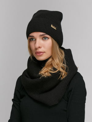 Комплект: шапка і шарф-снуд | 5178036
