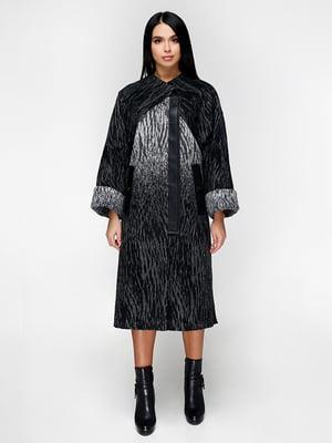 Пальто чорне | 5179086