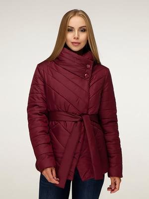 Куртка темно-червона | 5179087